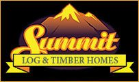 International Handcrafted Log Home Builders, Log Home Manufacturers, Milled Log Homes - Summit Log and Timber  Home (there are so many ideas on this one that would work perfectly that I'm just pinning the company logo.)