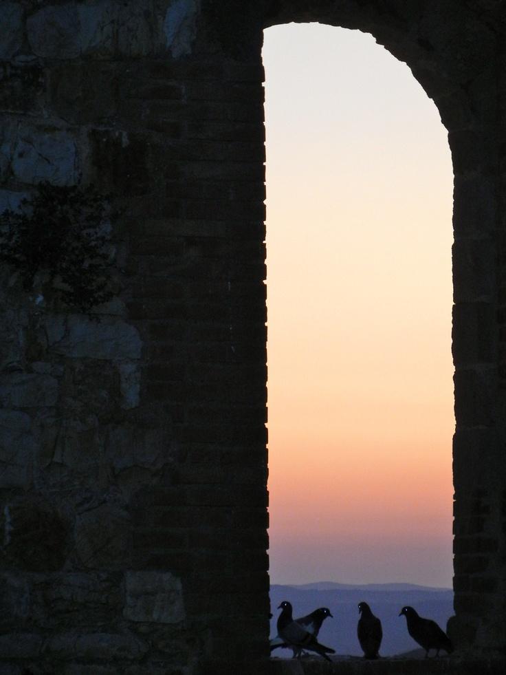 vista dal castello di montemassi