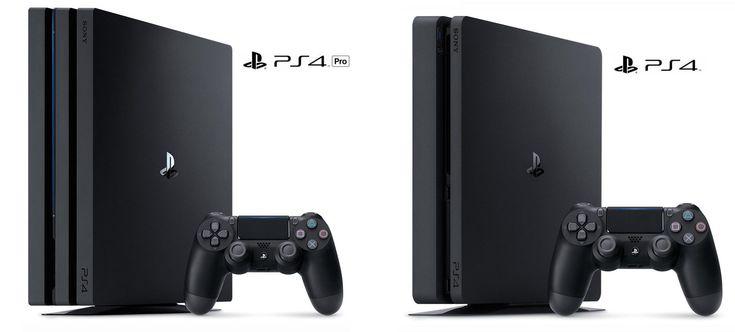 PS4 Pro et Nouvelle PS4
