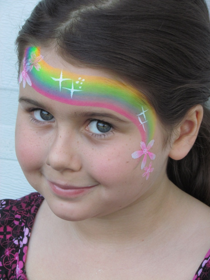 109 best face painting unicorn & rainbow images on ...