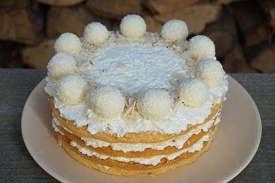 Gluténmentes Raffaello torta | Gluténmentes élet