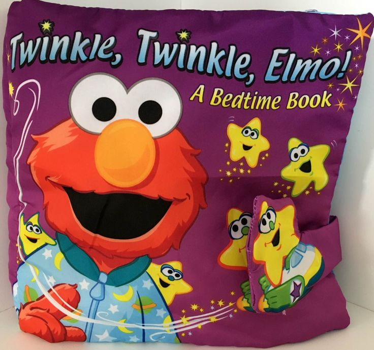 Elmo bedtime soft book for baby
