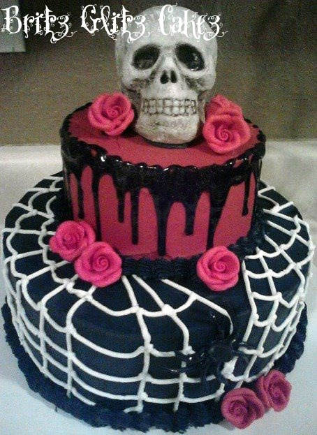 Made this for a halloween sweet 16 birthday