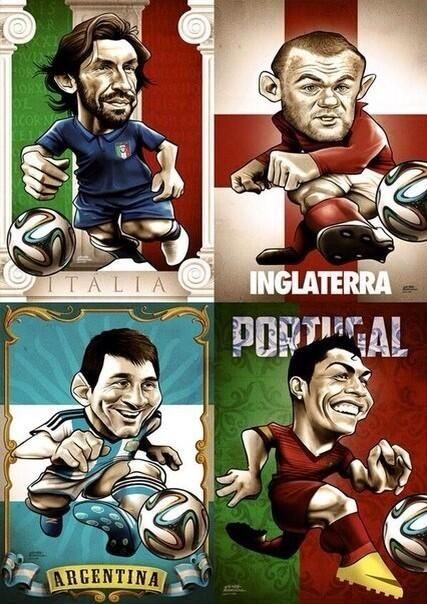 World Cup 2014 in 26 days! pic.twitter.com/BMM7AyWUbE
