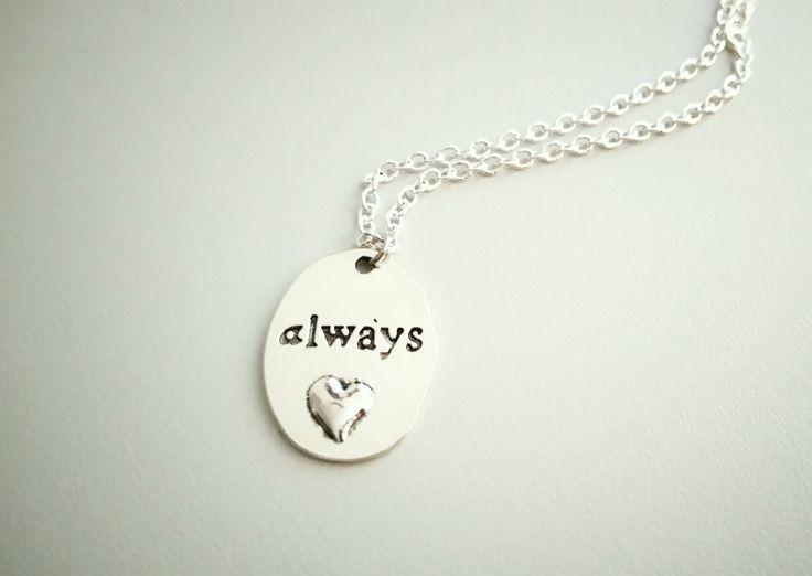 "HP ""Always"" Kette | Severus Snape | HP Kette mit Anhänger by Nesherim on Etsy"
