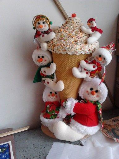 Cono navidad