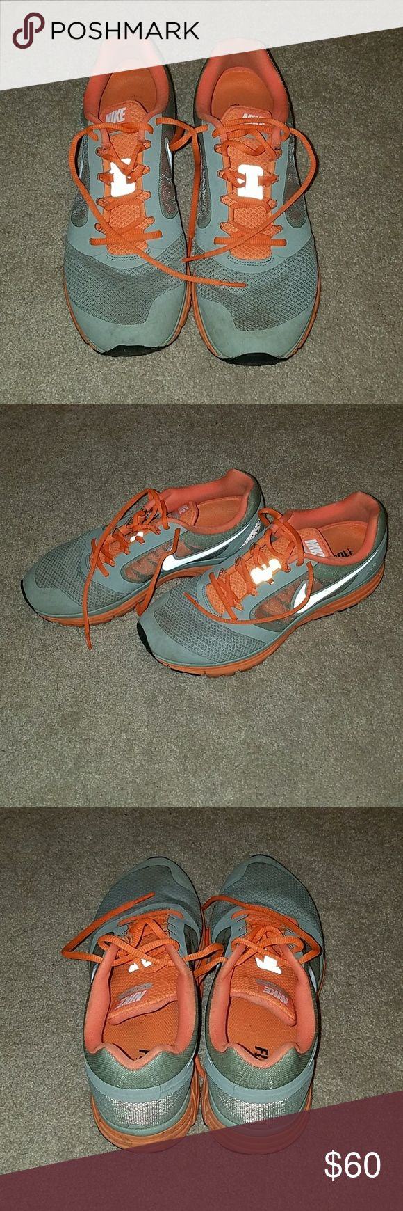 Nike Vomero 8 Sneakers Long distance running sneakers with great support and Nike+ compatible. Worn for a few races but still in amazing condition. Nike Shoes Athletic Shoes