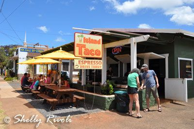 Island Taco - some of the best tacos on Kauai, conveniently located en route to Waimea Canyon (more in post)