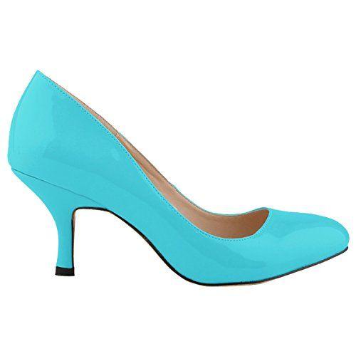 Zbeibei Women's PU Patent Leather Mid Heels Work Court Pumps(ZBB11841PA35-blue) ZBeiBei http://www.amazon.com/dp/B00Y0NFE86/ref=cm_sw_r_pi_dp_GUaWvb1BHWZMS