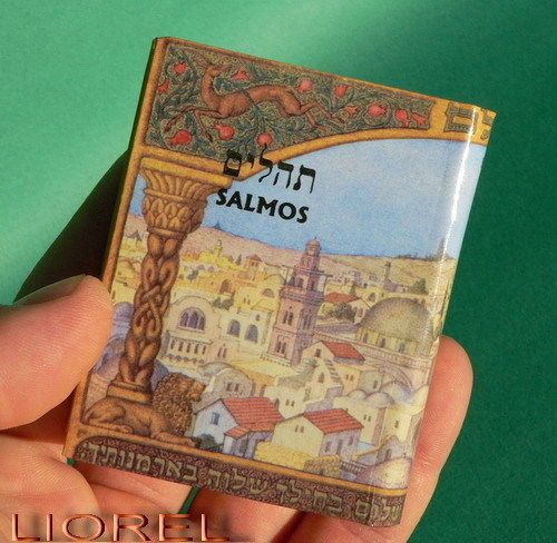 Pequeno-Salmos-Libro-Hebreo-Hebreo-Y-Espanol-Espanol-Biblia-Israel-judia-Libro