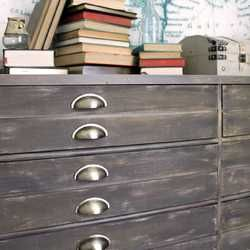 Anthropologie Inspired Industrial Dresser   Girl in the Garage