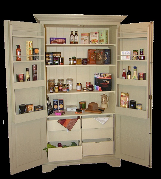 Larder Pantry Cupboard: 17 Best Images About Larder Cupboard On Pinterest
