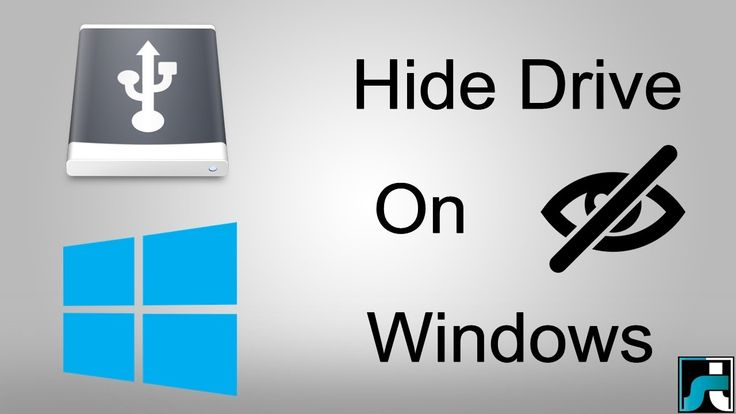 How To Hide Local Drive In Windows 7, 8, 10 PC (4 Ways)