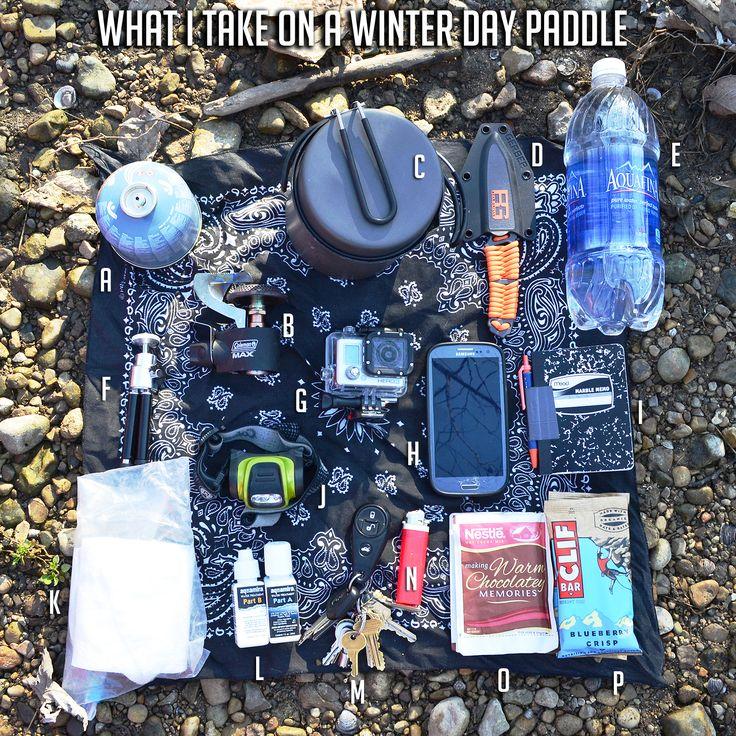 winter kayaking gear