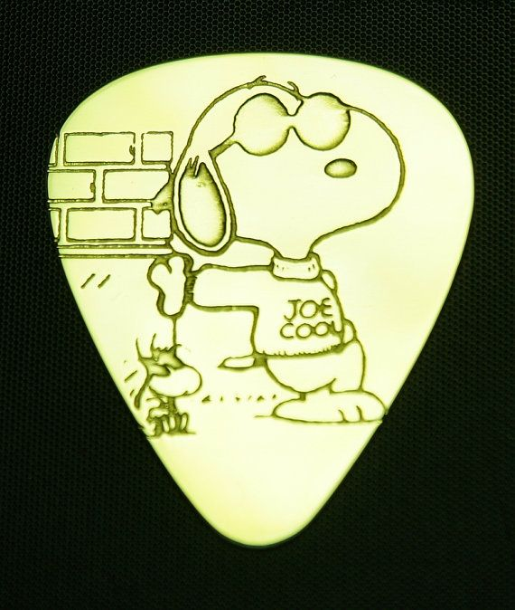 Hey, I found this really awesome Etsy listing at https://www.etsy.com/listing/150073745/snoopy-joe-cool-brass-guitar-pick