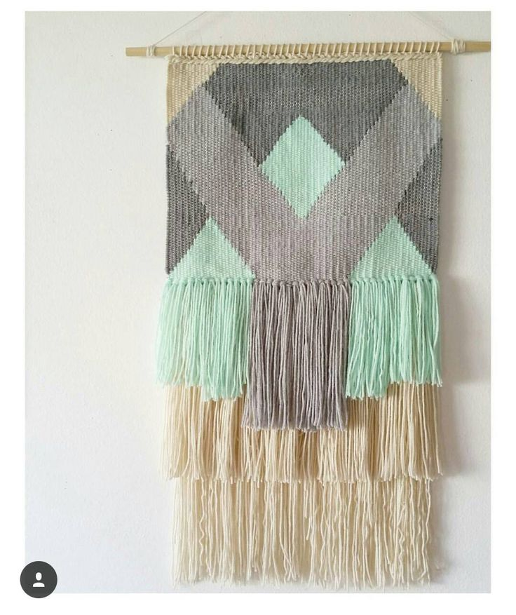 Medium Triangle and Shapes woven wall hanging, Fiber art tapestry by TheRiverHaze on Etsy https://www.etsy.com/listing/257888539/medium-triangle-and-shapes-woven-wall