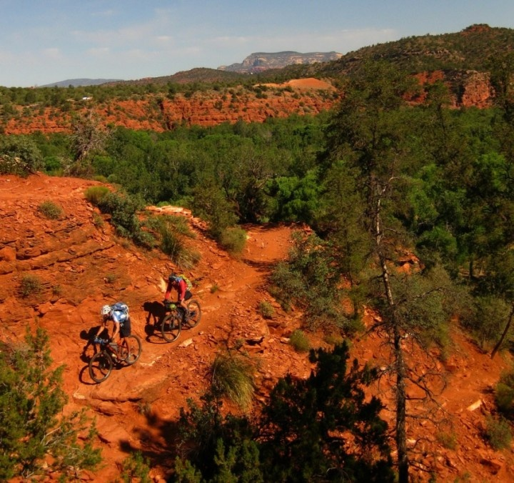 """Sedona Singletrack - Western Spirit notes that """"If you've already ridden Moab, Fruita and Gooseberry Mesa and like technical, but flowy riding, Sedona is for you.""""  It's definitely going on my MTB bucket list!"""