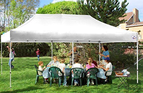 Impact Canopy 10×20 Easy Pop Up Canopy Tent Commercial Grade Instant Canopy
