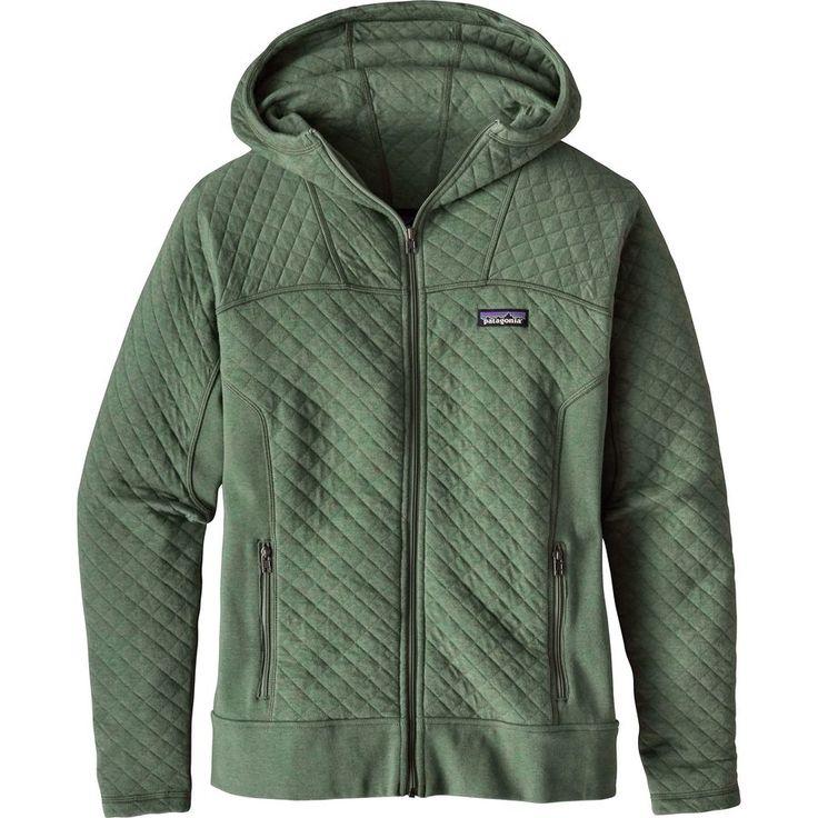 Patagonia - Cotton Quilt Full-Zip Hoodie - Women's - Hemlock Green