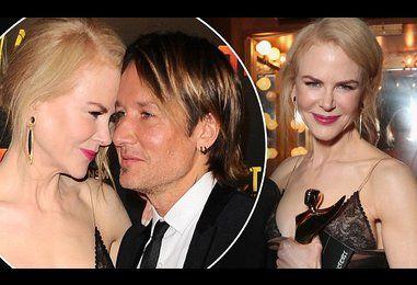 Nicole Kidman praises her Keith Urban at AACTA International Awards