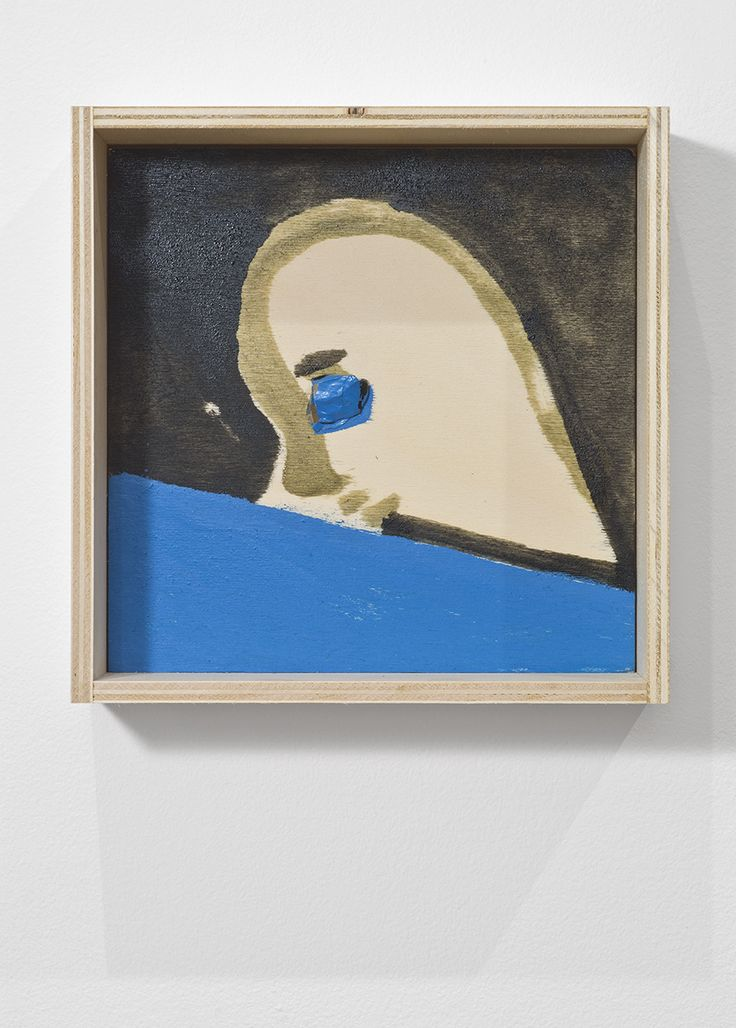 Bernier/Eliades Gallery | Marisa Merz |October 10 - November 14, 2013 | Untitled, 2013| Mixed media on wood | 27,5 x 27,5 x 8 cm| Photo by Boris Kirpotin