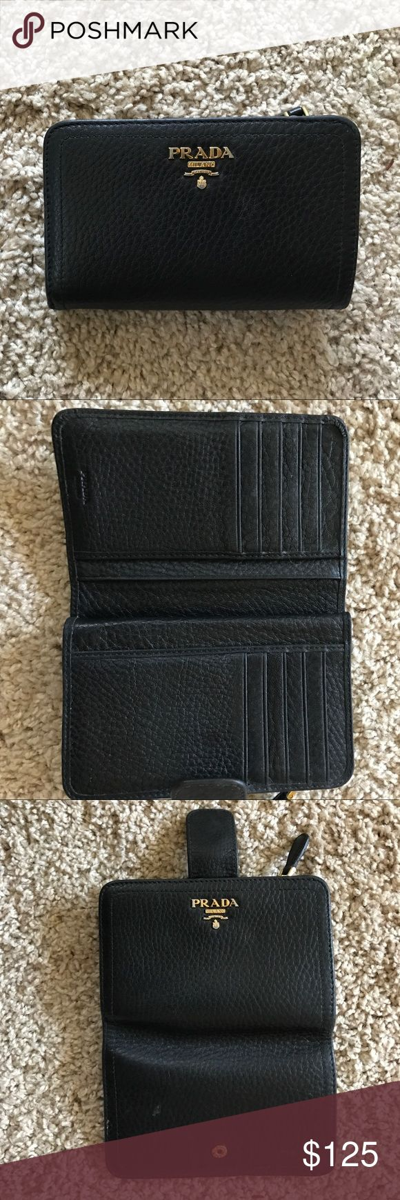 Prada Wallet Great condition. See pictures. Prada Bags Wallets