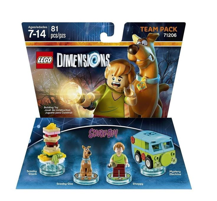 Lego Dimensions Scooby Doo Team Pack: Lego Dimensions Scooby Doo Team Pack: Amazon.co.uk: PC & Video Games