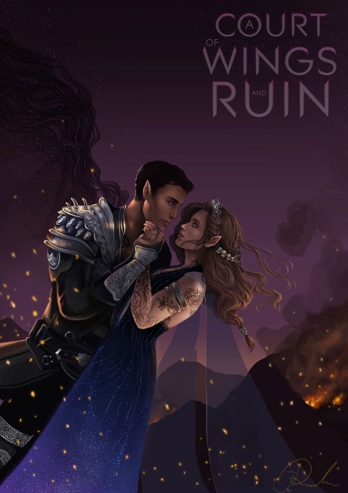 ✅ Done! I still have a few things to do before I print the test version but all in all it's finished! Characters belong to Sarah J Maas! By janarun