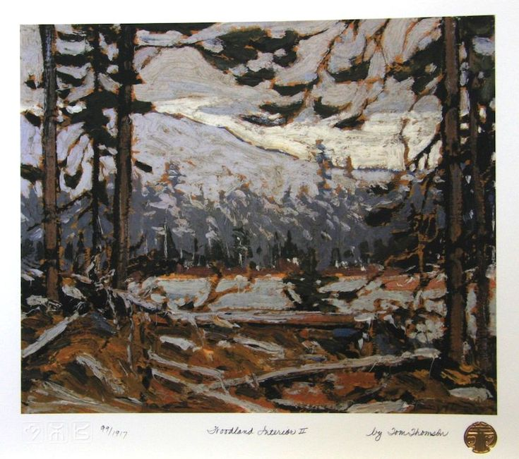 Tom Thomson Woodland Interior 2