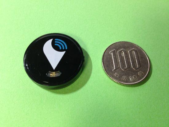 アメリカのクラウドファンディングサービスIndiegogoで出資して入手した小さな発信機、TrackRのレビュー記事です。