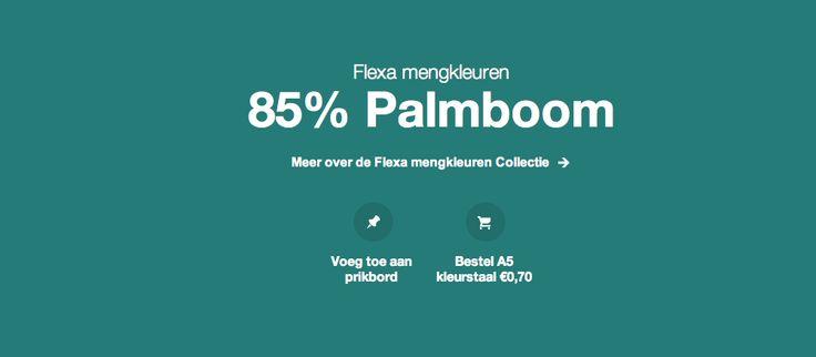 85% Palmboom Flexa mengcollectie