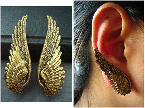 Aretes de alas | La Guarida Geek