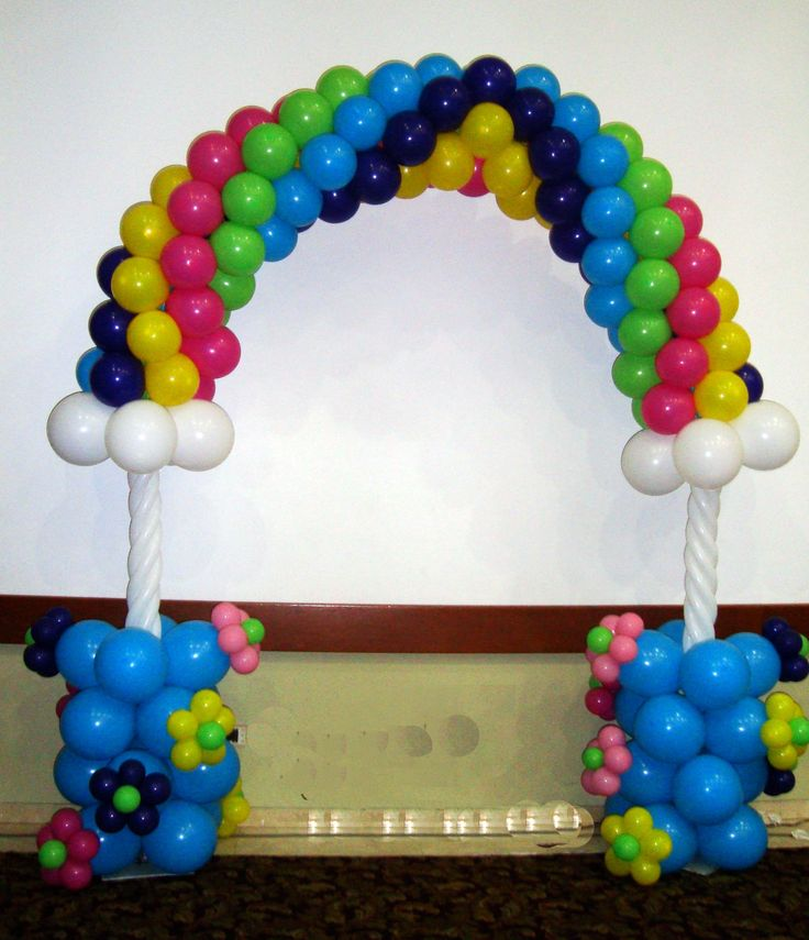 Arco Arcoiris 10 best Arcos en Globos
