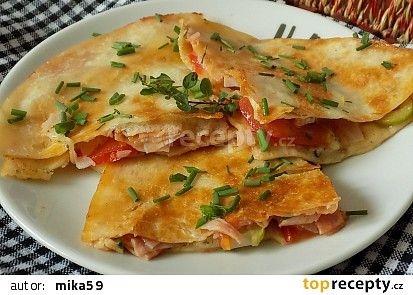 Tortillové chuťovky recept - TopRecepty.cz