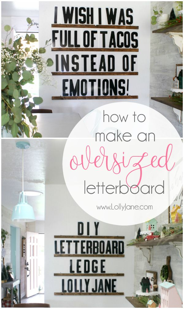 Diy Letter Board Ledge Lolly Jane Diy Letter Board Diy Letters Diy