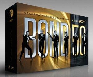 Bond 50, la collezione completa di tutti i Film di James Bond in Blu-Ray