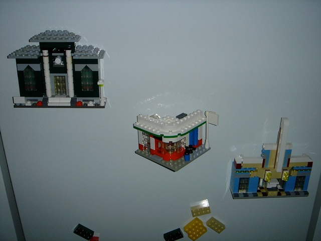 Town plan (anniversary edition) in mini scale and as fridge magnets .. 1.draft - never did a second...
