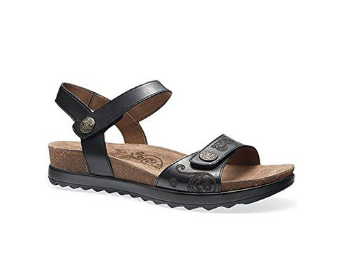 Dansko Womens Paola Flat Sandal Black 36 EU556 M US -- Discover this  special product