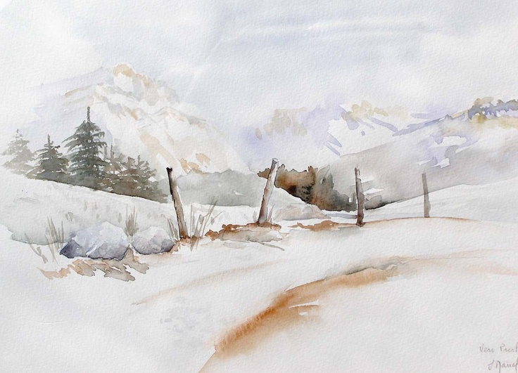 Josette MARREL Aquarelliste | Tableaux aquerelle | St ...