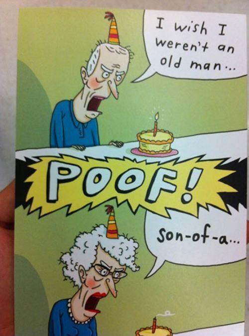 Stupid Old Man Joke
