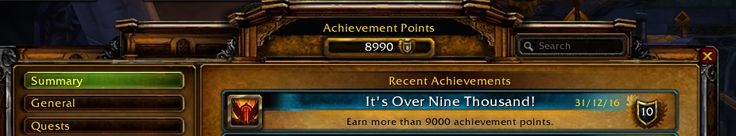 Its (almost) over 9000! #worldofwarcraft #blizzard #Hearthstone #wow #Warcraft #BlizzardCS #gaming