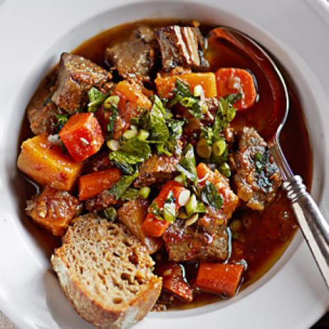 Braised Beef with Autumn Vegetables | Williams Sonoma