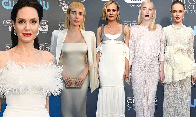 The Critics' Choice Awards red carpet arrivals