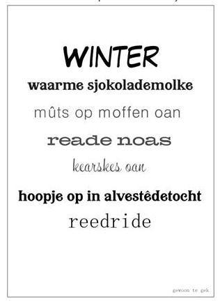 Interieurkaart Winter a6