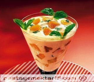 Kayısılı Yoğurt Şöleni resimli yemek tarifi, Meyve Tatlıları - Dondurmalar tarifleri