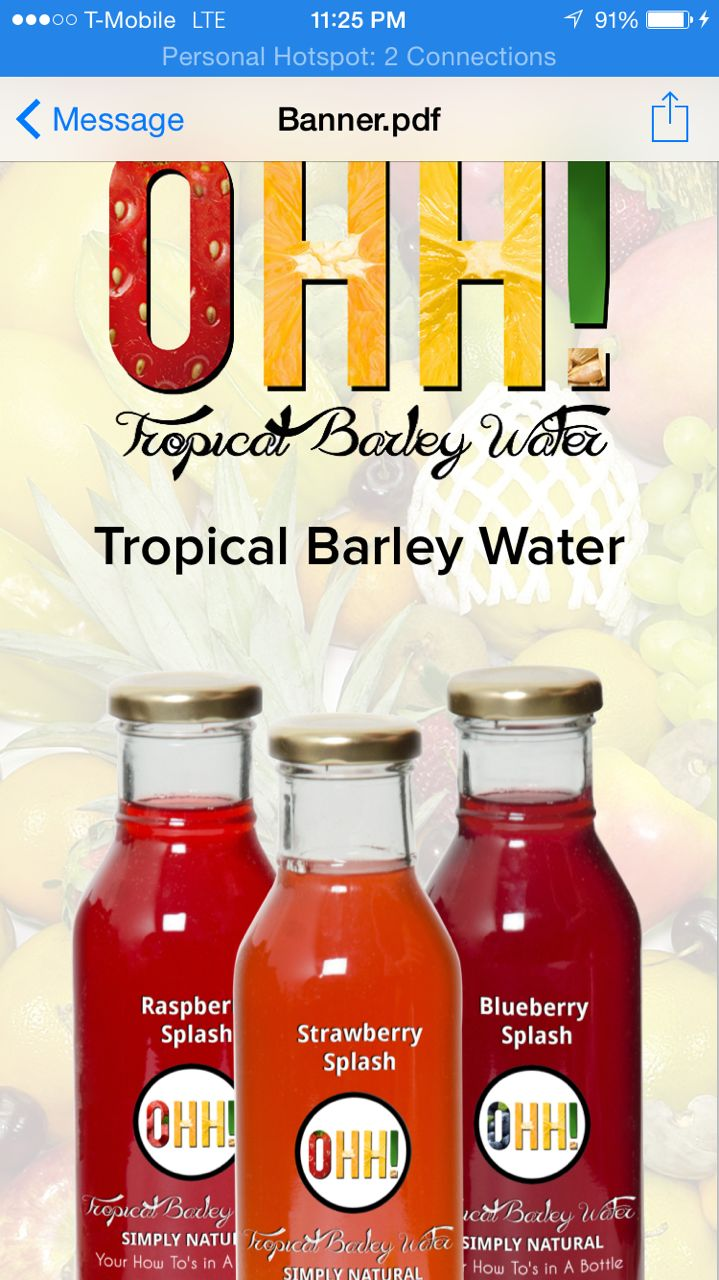 Fruit sugar splash - It S Barley Base Infused With Fruit Juices Not From Concentrate Exotic Spices And Cane Sugar Syrup The Beta Glucan Fibers From Barley