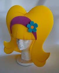Resultado de imagen para como hacer sombreros de goma espuma