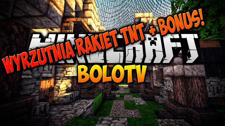 Minecraft PL Jak Zbudowac - Wyrzutnia Rakiet/TNT