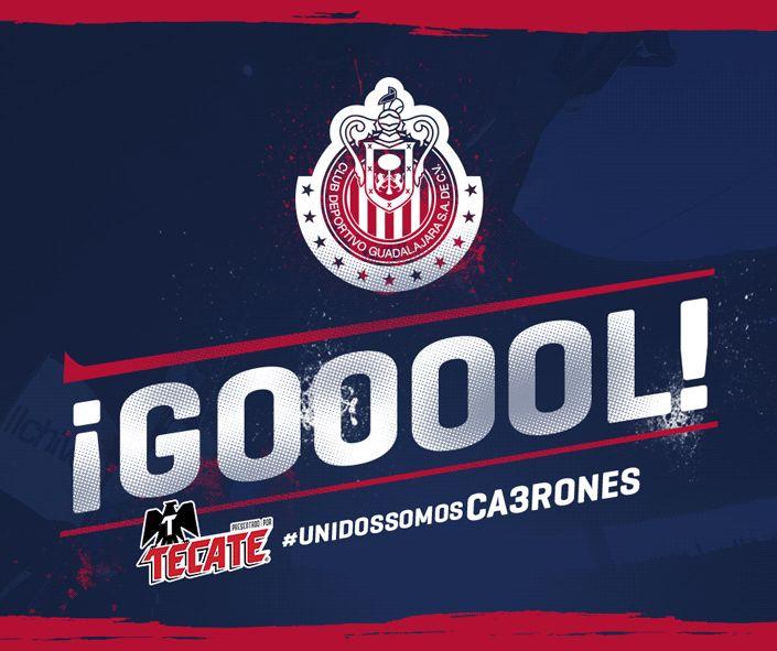 Chivas - 9' GLAZO!! El primero del partido el primero del Rebaño y el primero de Pizarro con nuestro equipo.  Monterrey 0-1 Chivas. #UnidosSomosCA3RONES