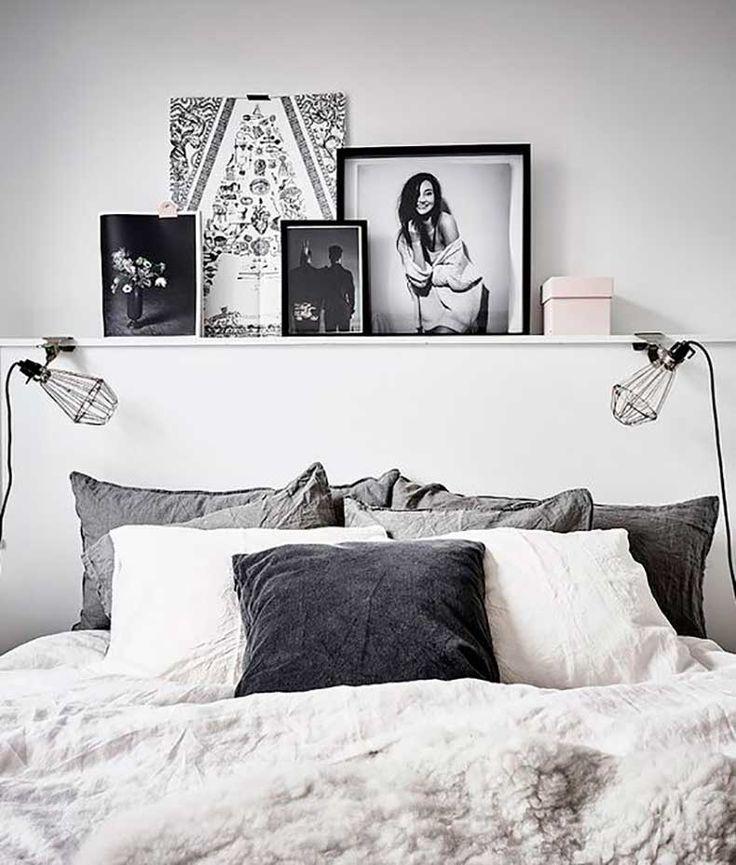 Onmisbaar in de slaapkamer: decoratieve planken boven het bed - Roomed